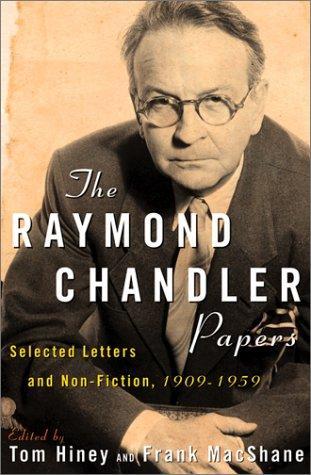 Raymond chandler essay on writing